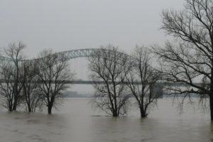 Update: Ohio River bridge among roads cut by floodwaters