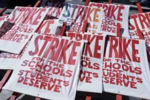 Round 2 of teacher strikes looks beyond pay and funding