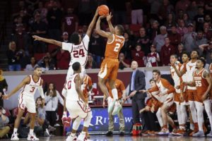 James, Bieniemy preserve Sooners' 69-67 defeat of Texas