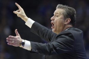 Calipari Kentucky's 2nd-winningest coach after 80-53 win