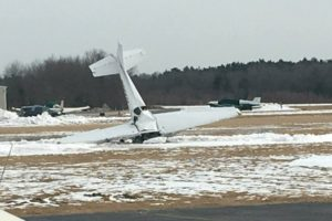 Small plane crashes at Mansfield Municipal Airport, catches fire and 2 are killed
