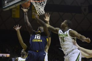 Kegler, Baylor turn back West Virginia 82-75