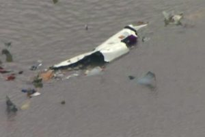 Sheriff: No likely survivors in jetliner crash near Houston, total devastation