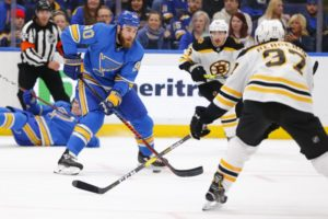 Blais scores shootout winner, Blues beat Bruins 2-1