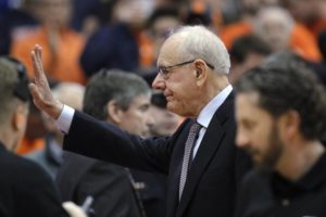 Jim Boeheim returns to Syracuse bench after fatal accident
