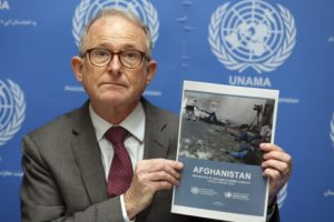 UN: Last year saw highest number of Afghan civilian deaths