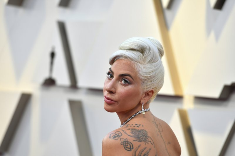 Lady Gaga arrives at the Oscars on Sunday, Feb. 24, 2019, at the Dolby Theatre in Los Angeles. (Photo by Jordan Strauss/Invision/AP)