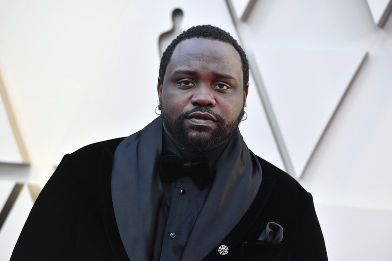 Brian Tyree Henry arrives at the Oscars on Sunday, Feb. 24, 2019, at the Dolby Theatre in Los Angeles. (Photo by Jordan Strauss/Invision/AP)