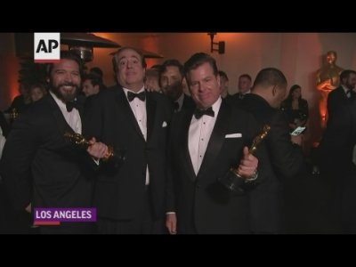 Green Book' producers thrilled by win, downplay controversy