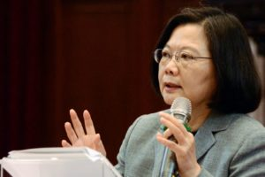 China relations shape Taiwan president's re-election campaign