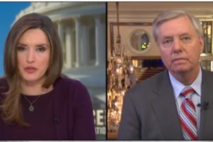 "Lindsey Graham says Trump has to ""do it on his own"" to build the wall"