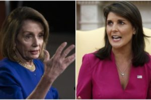 Haley questions Pelosi: Does protecting God's creation include babies?