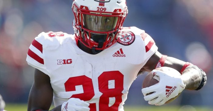 Nebraska RB 'limited' in spring as legal issues play out