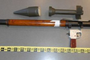TSA agents find non-working grenade launcher in luggage