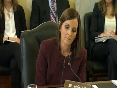Sen. Martha McSally, the first female fighter pilot to fly in combat, said Wednesday that she was raped in the Air Force by a superior officer. (March 6)