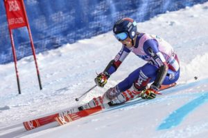 American ski racer River Radamus making waves on the slopes