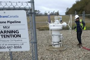 Companies decry 'valve turners' who shut down pipelines