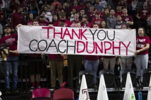 Temple's Dunphy begins last go-around at First Four
