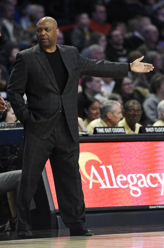 Florida State head coach Leonard Hamilton motions to the court during the first half of an NCAA college basketball game against Wake Forest on Saturday, March 9, 2019 in Winston-Salem, N. (AP Photo/Woody Marshall)