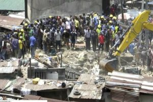 School building collapses in Nigeria with scores said inside