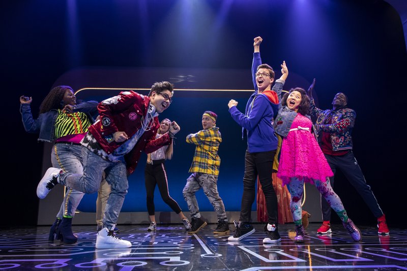 This image released by Keith Sherman & Associates shows the cast during a performance of the musical