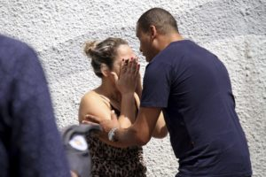 School rampage in Brazil leaves 8 dead, many wounded