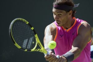Nadal reaches Indian Wells quarterfinals in straight sets