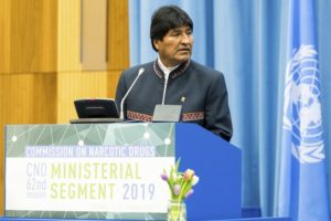 On rare European trip, Bolivia's Morales to visit Greece