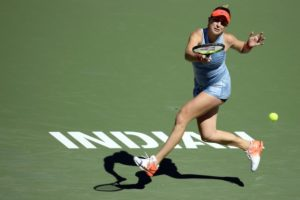 Bencic wins at Indian Wells semis, ensuring return to top 20