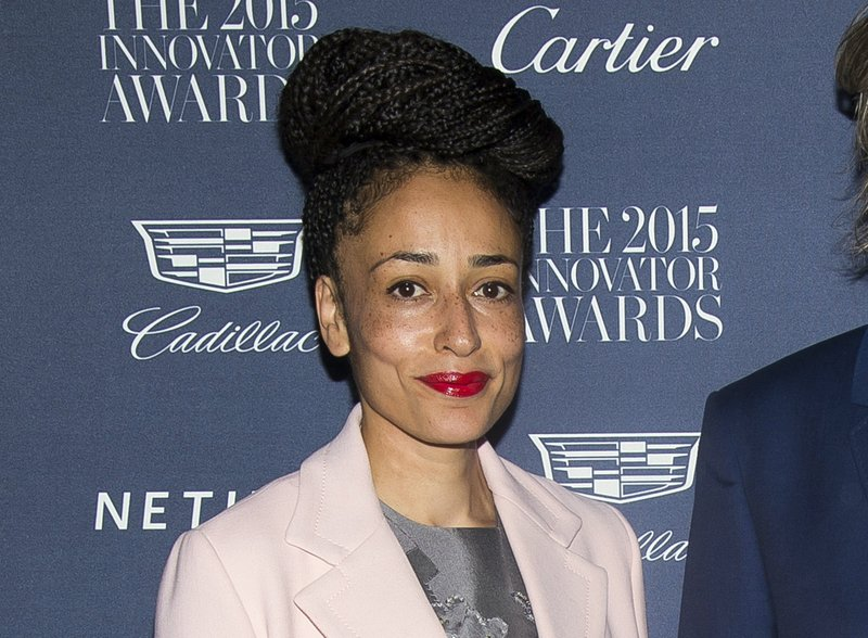 FILE - This Nov. 4, 2015 file photo shows Zadie Smith at the WSJ Magazine Innovator Awards in New York. (Photo by Charles Sykes/Invision/AP, File)