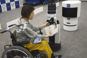 "Tokyo's Olympics may become known as the ""Robot Games"""