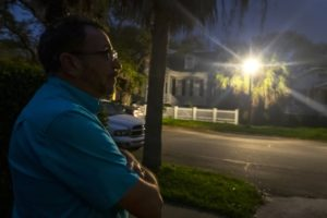 Some Galveston residents unhappy with brighter street lights