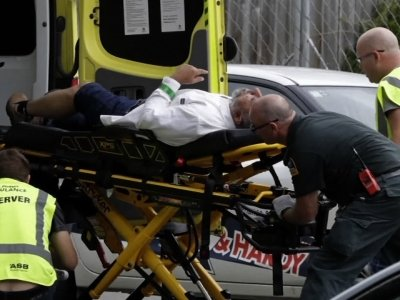 Witnesses inside the Masjid Al Noor mosque in Christchurch describe the horrific scene when a gunman opened fire during Friday afternoon prayers. (March 15)