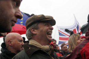 Update: Pro-Brexit protest begins muddy march to London