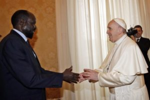 Pope still hopes to visit South Sudan to promote peace