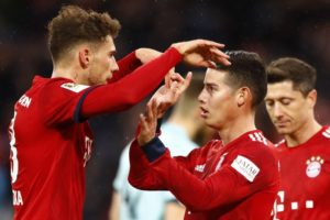 Davies scores, Bayern back on top after 6-0 rout of Mainz