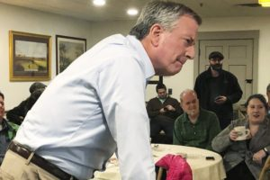 De Blasio calls Obama's early days in office 'a lost window'