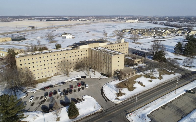 The Rock County Health Care Center was originally built to be the county's psychiatric hospital 47 years ago. (Anthony Wahl/The Janesville Gazette via AP)