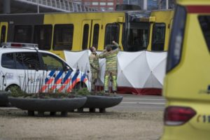 Manhunt launched after shooting on Dutch tram wounds many