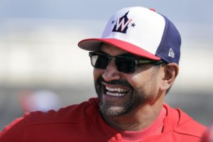 Nats' Dave Martinez aims to 'face fear like bison' in Year 2