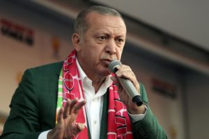 Erdogan shows New Zealand attack video in weekend rallies