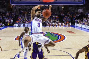 Florida's Hudson welcomes NCAA game vs Nevada's Martin twins