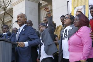 Sharpton, family seek change a year after Stephon Clark died