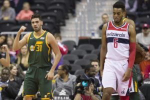 Gobert, Mitchell lead Utah in 116-95 rout of Washington