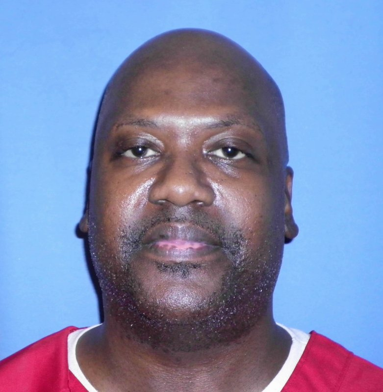 This Aug. 3, 2017 photo provided by Mississippi Department of Corrections shows Curtis Flowers, who's murder case has gone to trial six times. (Mississippi Department of Corrections via AP)