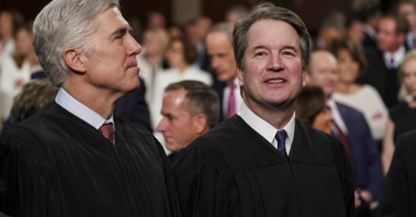 Fresh calls for Brett Kavanaugh's impeachment after new 'flashing' allegation emerges