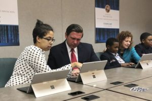 DeSantis gets some schooling on coding, computer science