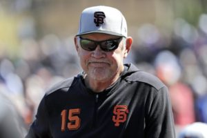 Giants look to get back to winning in Bochy's last season