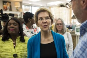 Warren takes aim at Electoral College in 3-day trip to South