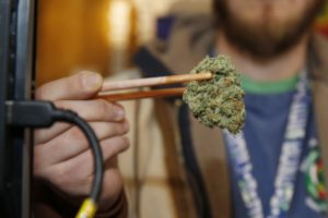 Smoking strong pot daily raises psychosis risk, study finds